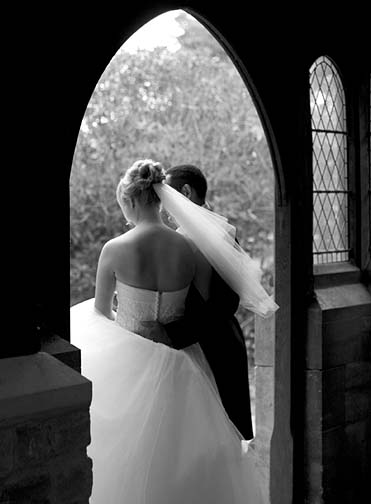 Wedding photograph by Richard Goulden